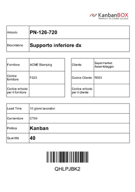 kanban card template printing kanban labels kanbanbox electronic kanban e