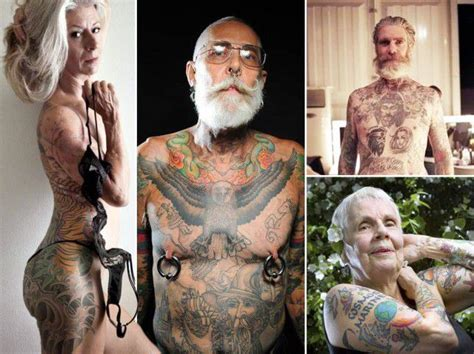 what age can you get a tattoo these bad seniors prove that tattoos can look