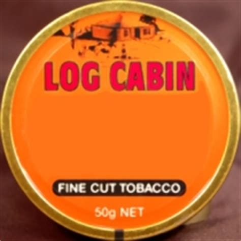 Log Cabin Tobacco by Log Cabin Pipe Tobacco Made In Denmark 5 X 50g Low