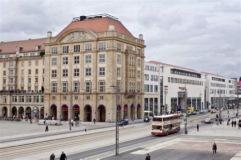 dresden altmarkt deutsche euroshop image archive