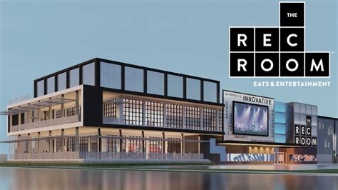 the rec room new cineplex entertainment project to open in august in edmonton