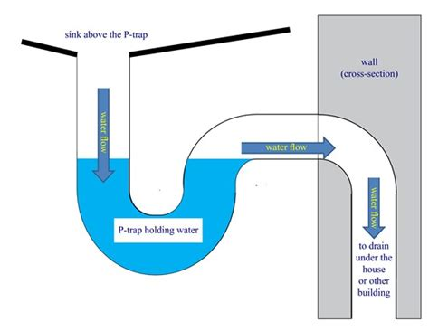 What is a P Trap?   OWASA   Orange Water and Sewer Authority