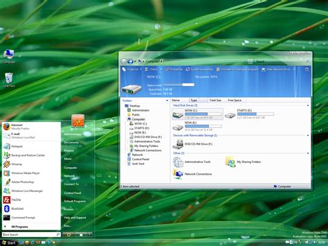 Themes Vista | aerovg theme for windows vista by vishal gupta on deviantart