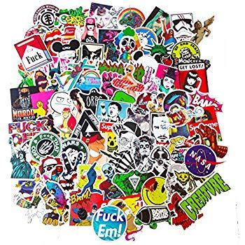Coole Motorrad Sticker by Dreamergo Cool Graffiti Stickers 100 Pieces