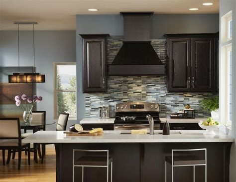 kitchen colors for dark cabinets wall colors for kitchen with dark cabinets home combo