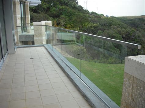 Glass Patio Railing Systems by Stainless And Glass Exterior Patio San