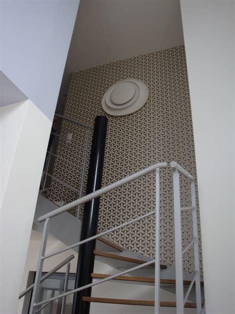 Papier Peint Montée D Escalier by Papier Peint Mur Escalier Monte Duescaliers En Bois