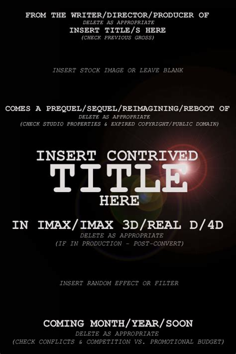 What Went Wrong With Film Cinema Hollywood What Went Wrong With Documentary Poster Template
