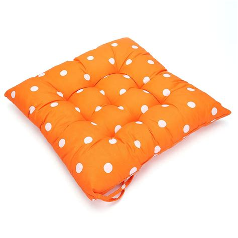 tie on seat pad tie on dotty chunky seat pad chair cushion pads dining