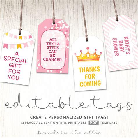 Baby Tags Printable