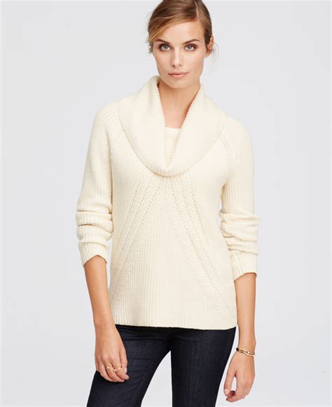 Cowl Neck Sweater white cowl neck sweater fashion skirts
