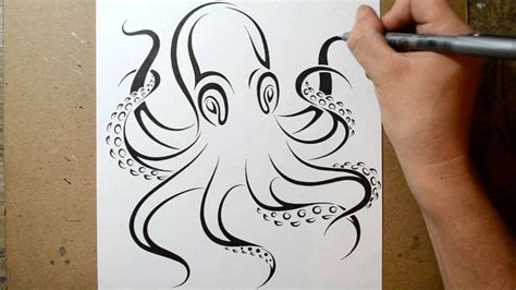 octopus tribal tattoo tribal octopus