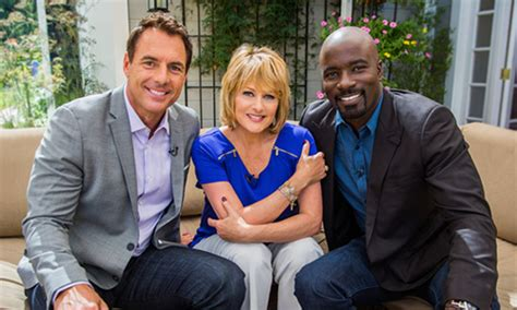 mike colter and family today on home family monday september 29th 2014