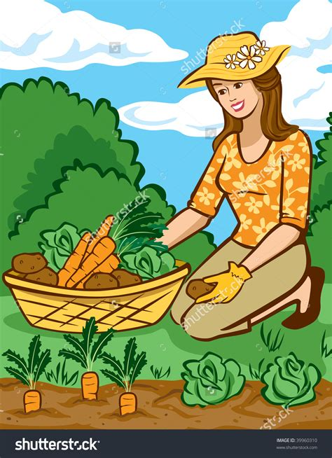 vegetable growing clipart clipground