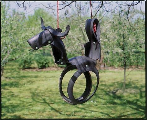 tire swing horse instructions rodeo bull tyre swing