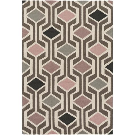 Pink And Black Area Rugs Artistic Weavers Hilda Gisele Blush Pink 2 Ft X 3 Ft Indoor Area Rug Hda2387 23 The Home Depot