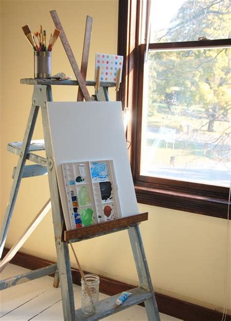 bob ross painting easel 17 best images about bob ross style on ladder