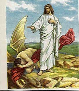 imagenes de dios venciendo al diablo religion jesus nos ense 209 a a vencer las tentaciones