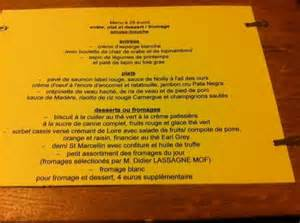 Qui Menu Menu Picture Of L Ourson Qui Boit Lyon Tripadvisor