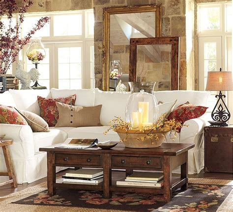 pottery barn living room designs home decor autumn