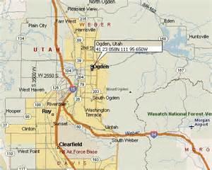Ogden Utah Map by Ogden Utah Map 1