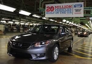 Honda Marysville Plant Welcome To Honda Manufacturing Of Ohio Honda Of America Mfg