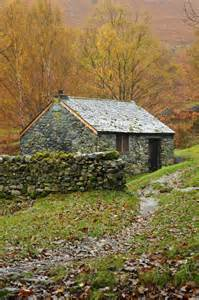 autumn cottage fall into autumn