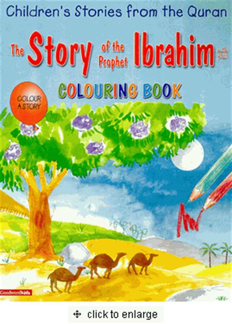 The Story Of The Prophet Ibrahim Colouring Book Children S Storie the story of the prophet ibrahim coloring book children s stories from the quran saniyasnain khan
