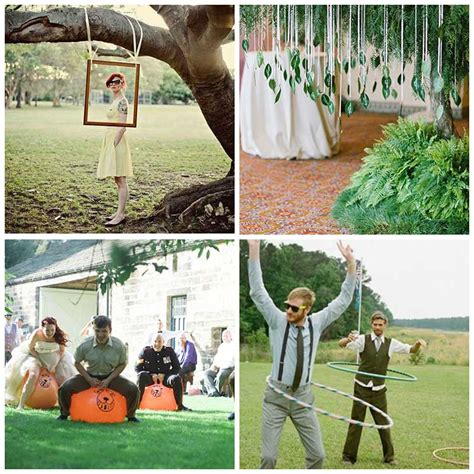 backyard wedding games summer weddings the great outdoors and your outside venue