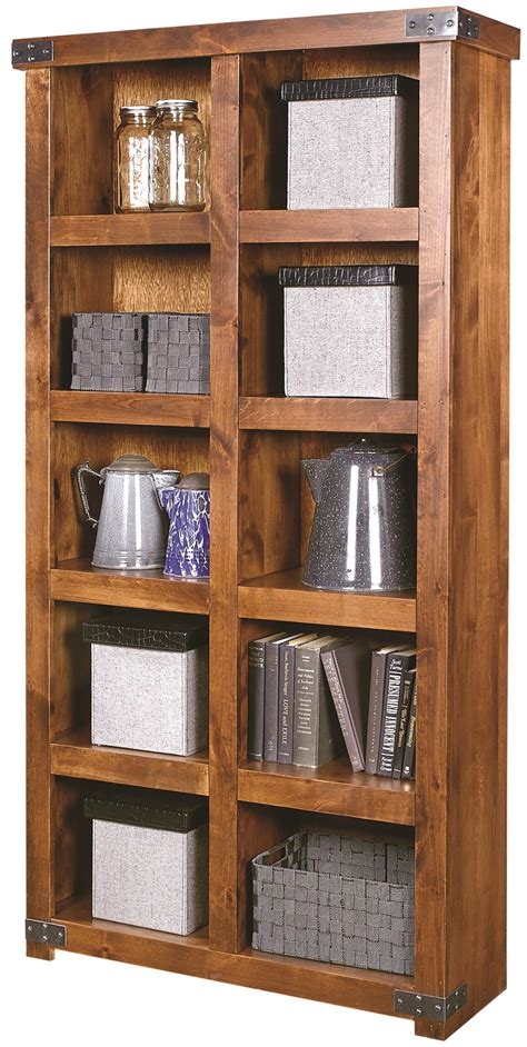 Etagere Industriel 1045 by Aspenhome Industrial Display With 10 Shelves