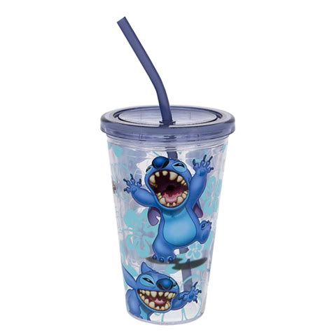 Tumbler Stitch Pink 1 Tumbler Starbuck Disney Stitch Your Wdw Store Disney Tumbler With Straw Stitch