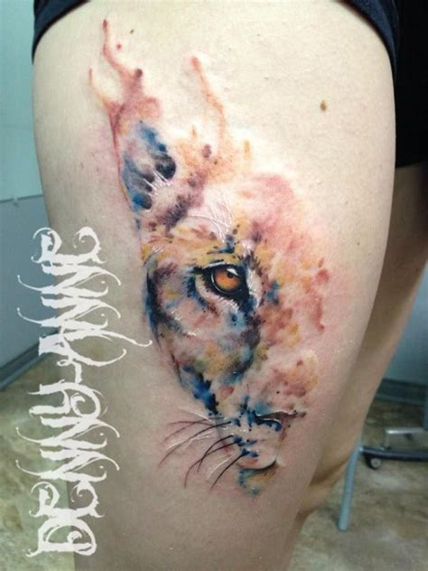 watercolor tattoo lion 25 best ideas about lioness on tattoos