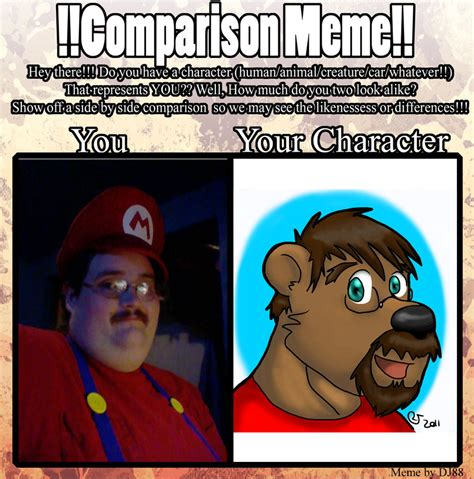Comparison Meme - comparison meme by caseyljones on deviantart