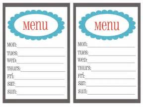 20 free menu planner printables fab n free