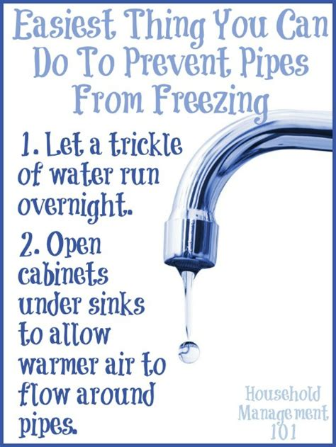 frozen hot water pipes tips to prevent frozen water pipes in your home