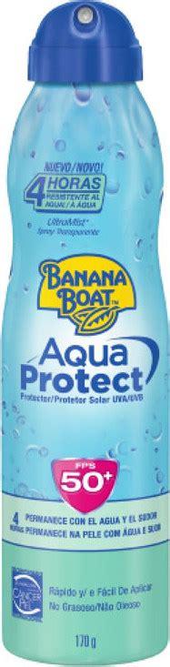 banana boat ultra protect spray banana boat aqua protect ultra defense protetor solar