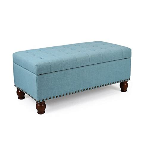 Lift Top Storage Ottoman Asense Fabric Rectangle Tufted Lift Top Storage Ottoman Bench Footstool With Solid Wood Legs