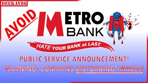 metro bank uk avoid metro bank uk warning disturbing images