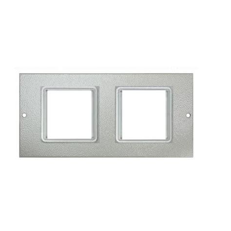 3 way floor l ultima 3 way floor box shallow accessory plates