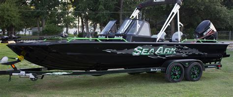 sea pro boats for sale near me aluminum boat builder seaark boats arkansas