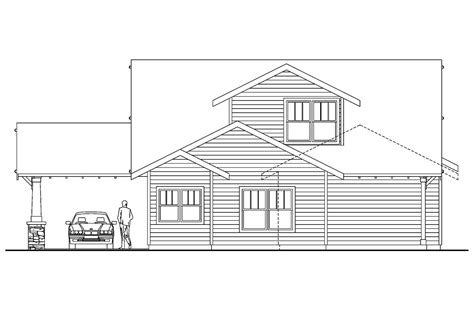 Bungalow House Plans Markham 30 575 Associated Designs Bungalow House Plans With Garage In Back