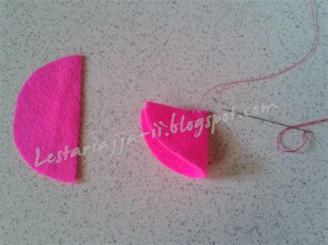 tutorial menjahit gambar flanel khanty s handcraft tutorial membuat stroberi flanel