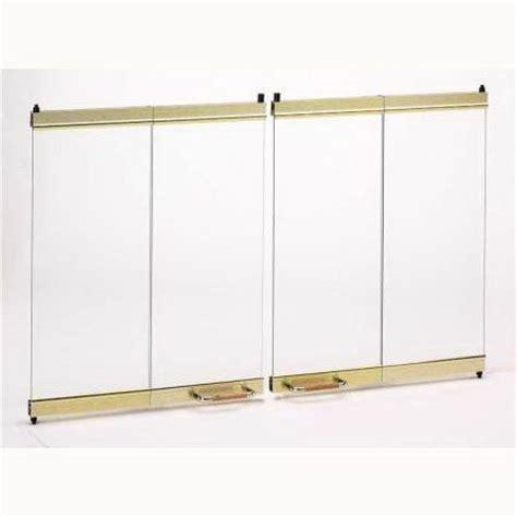 superior fireplaces bdg42 42 bi fold glass door