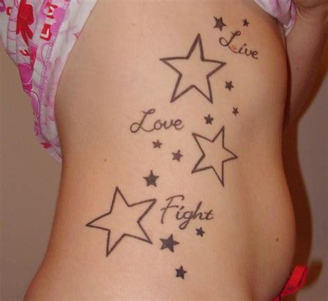 tattoo stars ribs a stunning list of star tattoo designs for girls