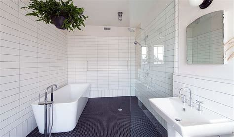 Bathroom Feature Tile Ideas gorgeous variations on laying subway tile
