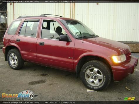 2000 Kia Sportage 4x4 2000 Kia Sportage 4x4 Garnet Gray Photo 4