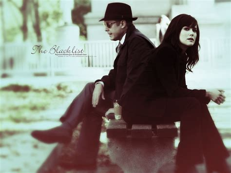 the blacklist lizzy and red and lizzy the blacklist wallpaper 35814753 fanpop