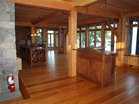 interior beams in houses design details in a timber frame home