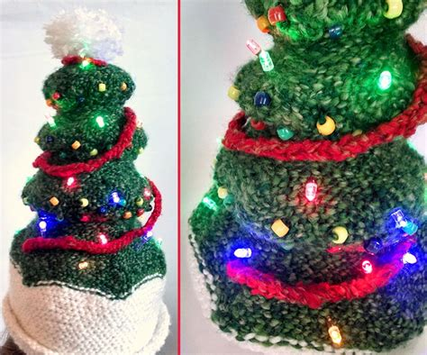 light up christmas tree hat 3