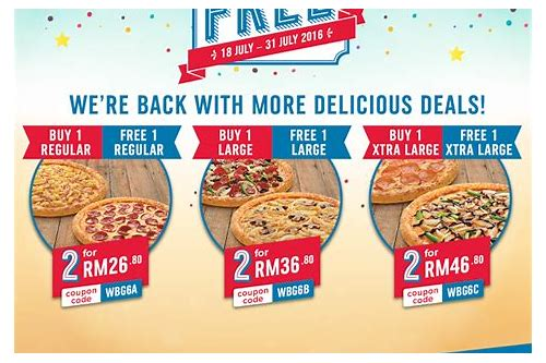 dominos online coupon codes malaysia